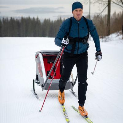 Ski-/pulksett
